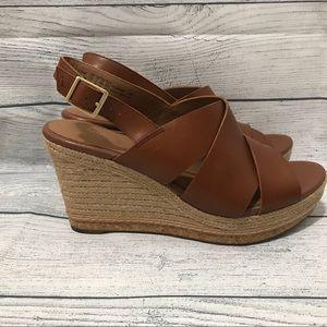CLARKS Artisan Amelia Dally Wedge Sandals (0389)